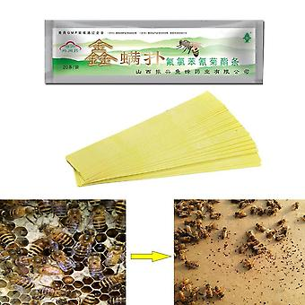 Varroa Strips Fluvalinate Bee Mite Treatment Tool Beekeeping Pest Control