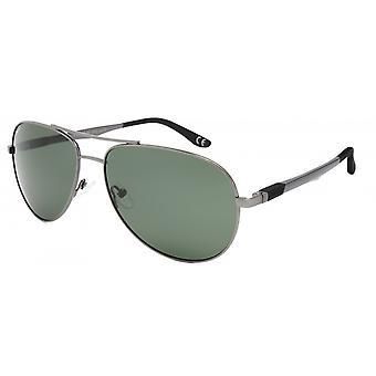 Sunglasses Unisex Aviator polarizes silver grey (P75448)