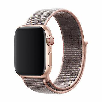 Apple Watch 42/44MM Band Pale Pink - Nylon