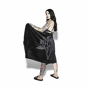 Blackcraft cult - baphomet bath towel - 100% cotton towel