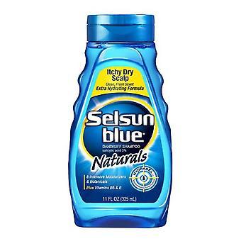 Selsun blue naturals dandruff shampoo, 11 oz *