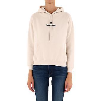 Balenciaga 612959tjve19054 Women's Beige Cotton Sweatshirt