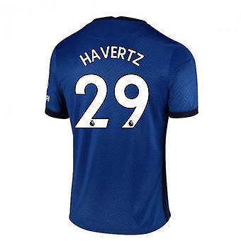 2020-2021 Chelsea Home Nike Jalkapallopaita (HAVERTZ 29)