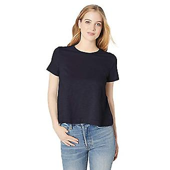 Brand - Daily Ritual Women's Lightweight Lived-In Cotton Short-Sleeve ...