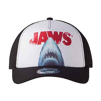 Jaws Baseball Cap Classic Movie Logo nieuwe Officiële Unisex Strapback trucker