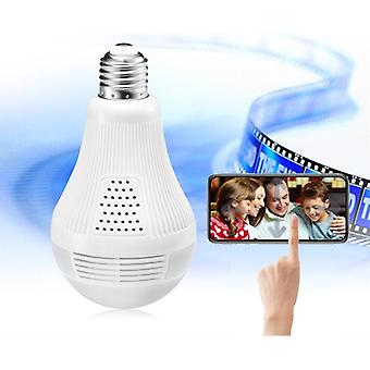 Security-camera 1080p Hd Video-bulb Wireless Home-security Surveillance 360 Night-vision Two-way Audio