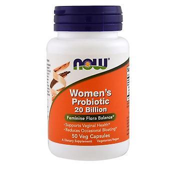 Womans probiotiska 20 000 000 000 (50 vegetariska kapslar)-nu Foods