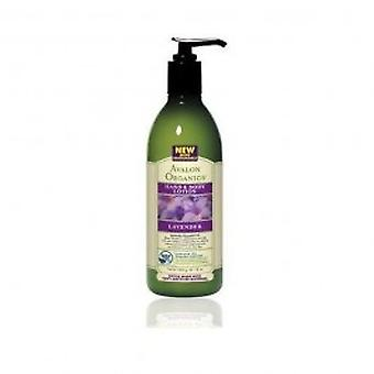 Avalon - lavendel Hand & bodylotion 350ml