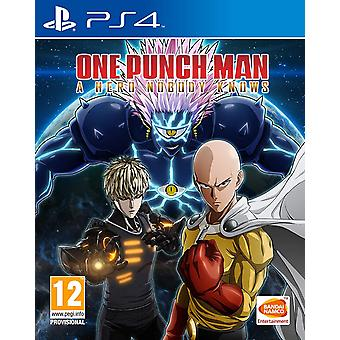 One Punch Man A Hero Nobody Knows PS4 Jeu