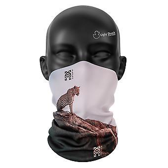 Afrika Leopard Snood Gesicht Maske Schal Neckerchief Kopf Abdeckung Tube wärmer Buff