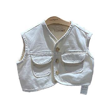 Bambini Vest Vest Denim Waistcoats Outerwear