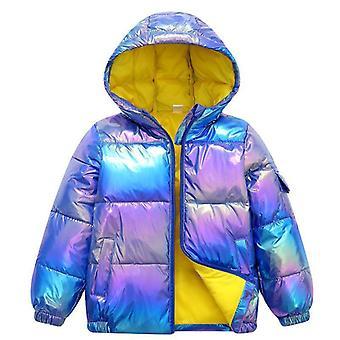Dívky, Zimní Bunda, Dolů Bavlněný Kabát, Nepromokavý, Kabáty s kapucí