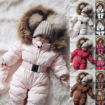 Cute's Winter Jumpsuit, Jacke Kapuze, warm dick Outfit
