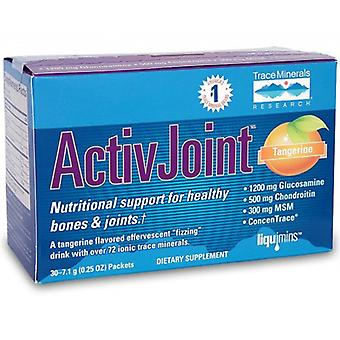 Trace Minerals ActivJoint Bone and Joint Powder, 1 Packet