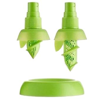 Manual Fruit Juice Sprayer Green ABS Material 0.83Inch in Diameter Tary