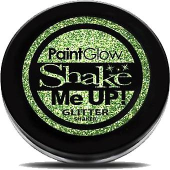 PaintGlow Holographic Glitter Shaker - Green - 5g