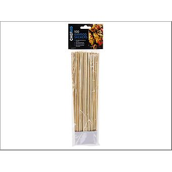 Chef Aid Bamboo Skewers 10in x 100 10E01476