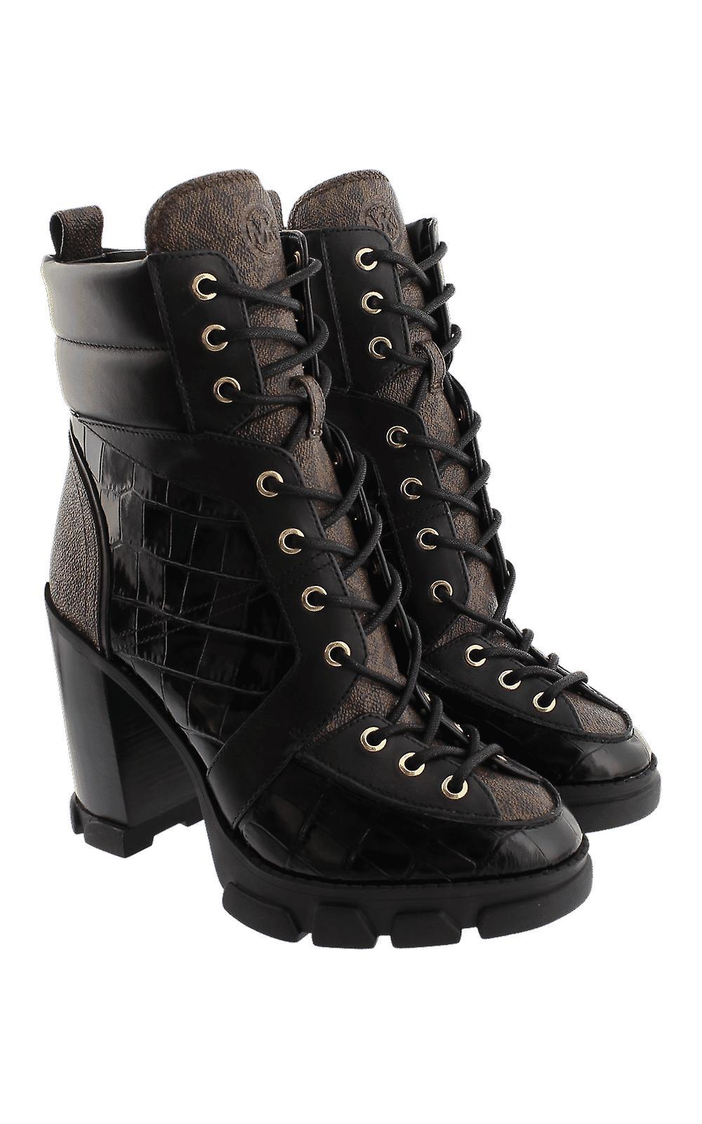 Michael Kors Ridley Blonder Opp Bootie Svart 40F0RIHE6E sko