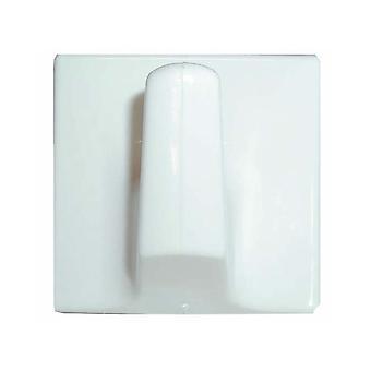 Home Label Stick On Hooks Giant White B0007-U