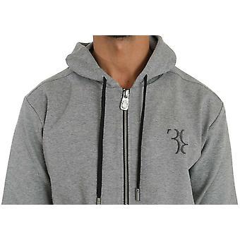 Gray cotton sweater pants trac87930455