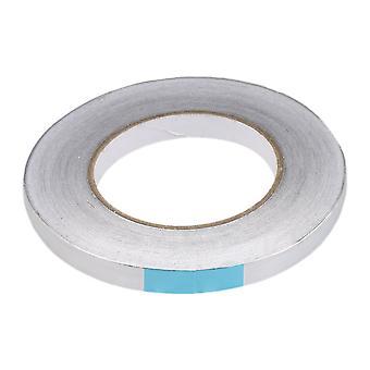 Aluminum Foil Tape for Flame Resistant 80-120��C 12mmx50mx0.08 mm