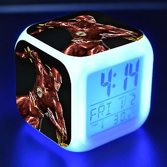 Colorful Multifunctional LED Children's Alarm Clock -The Flash Season 4 #30