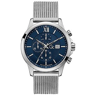 Gc watches executive watch for Analog Quartz Men with stainless steel bracelet Y27005G7MF