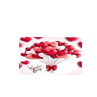 Happy Valentines Day Shower Curtains Bathroom Curtain Rose Petal Love Bath Sets