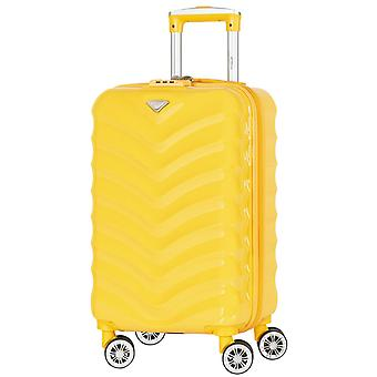 Flight knight 8 wheel abs jet2 cabin case klm hand luggage ba suitcase 55x35x20cm easyjet tui