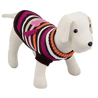 犬骨ローザ (犬、犬の服、セーター、パーカー) 20 cm 用 Nayeco セーター