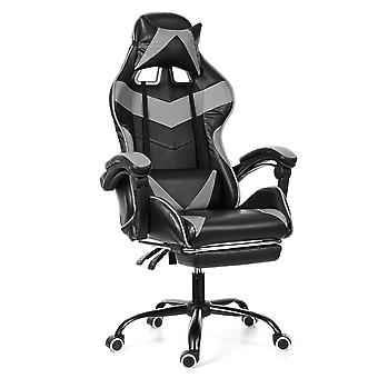 Wcg Computer Gaming Chair/pvc Household Chair Verstelbare voetsteun Fauteuil