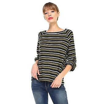 Stripe Long Sleeve Pull On Top