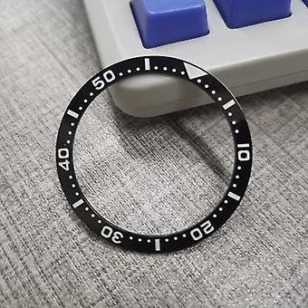 Ceramic Bezel Insert Black For Seiko Watch Replace Accessories Submariner