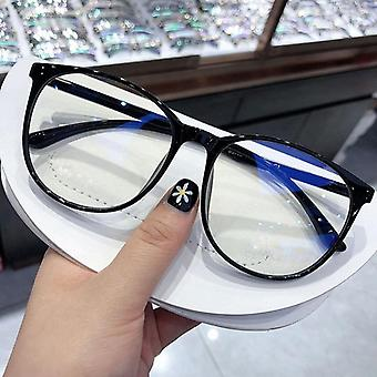 Anti Blue Light Glasses Blocking Filter Round Computer Glasses/women