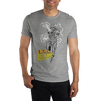 Dc comics black lightning supercharged short-sleeve t-shirt
