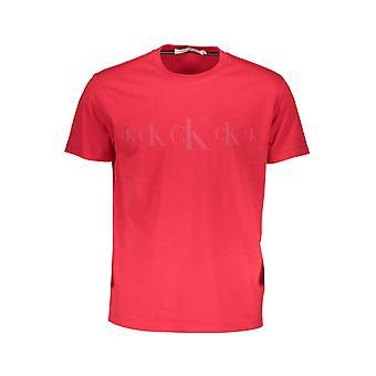 קלווין קליין חולצת טריקו שרוולים קצרים גברים J30J316471