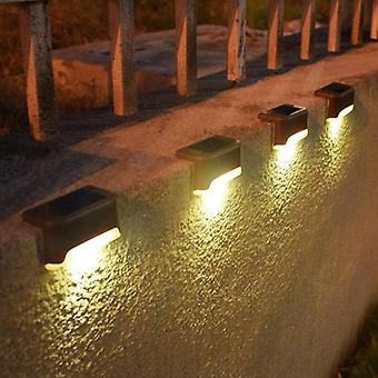 Lights Outdoor Waterproof Led Solar Fence Lamp For Patio Stairs Garden Pathway