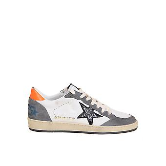 Golden Goose Gmf00117f00038680342 Men's White Leather Sneakers