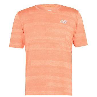 New Balance Mens Speed T-Shirt Short Sleeve Performance T Shirt Tee Top