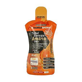Total energy amino gel 50 ml of gel (Orange)