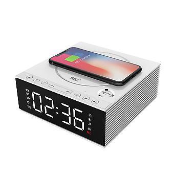 J21s multifunctionele bluetooth luidspreker telefoon draadloze oplader FM radio diy wekker muziek record