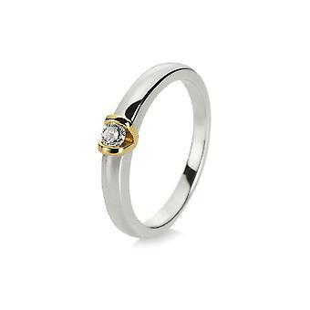 Luna Creation Promessa Solitairering 1D900WG456-1 - Ring width: 56
