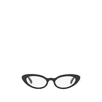 Miu Miu MU 01SV gafas femeninas negras