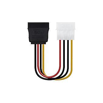 4-pack, cable eléctrico SATA a Molex