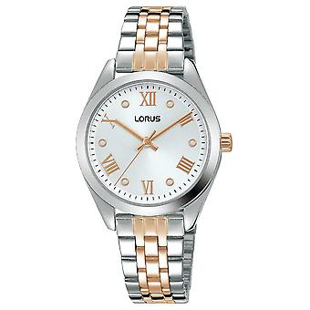 Lorus Womens | Silver Dial | Two Tone Stainless Steel Bracelet RG255SX9 Watch