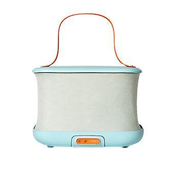 Přenosný skládací sušicí box, malá sušička pro domácnost, ultrafialová sterilizace,