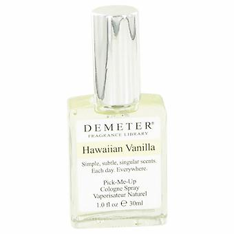 Demeter Hawaiian Vanilla Cologne Spray By Demeter 1 oz Cologne Spray