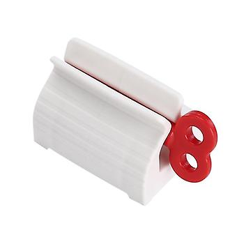 Home Plastic Toothpaste Tube Squeezer Easy Dispenser Rolling Holder Bathroom
