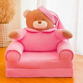Cute 's Chair Home Cartoon Folding Back Sofa Princess Soft Bedroom Reading