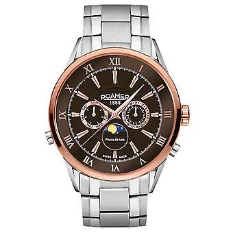 Roamer 508821 47 63 50 Superior Moonphase watch 43 mm